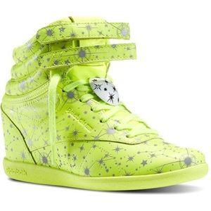 REEBOK Melody Ehsani Freestyle Hi Wedge sneakers